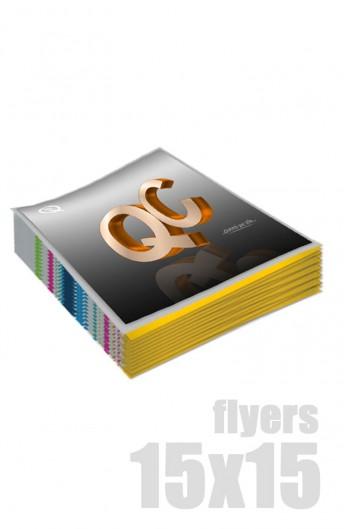 Flyers 15x15