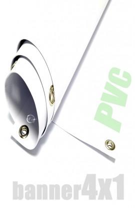 Striscione PVC 4x1
