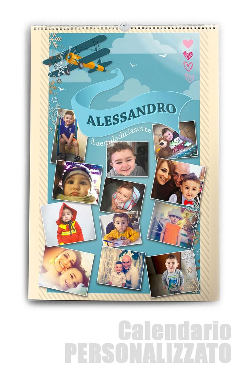 Calendario Fotografico Personalizzato.Calendario Fotografico Personalizzato Le Tue Foto Per Un Anno Intero