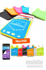 Mobile Card Pocket in Silicone
