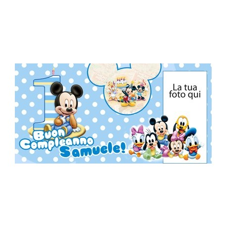 Striscione Mini Disney