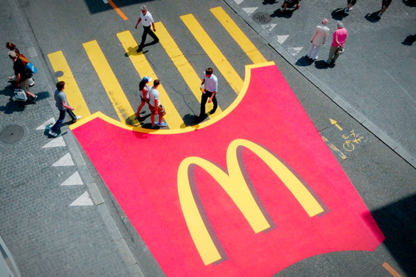 Strisce-gialle-Mc-Donalds