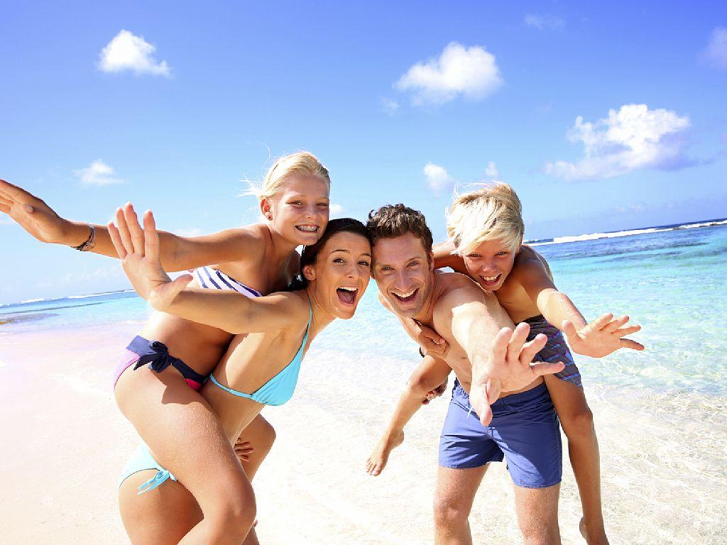 nuovi clienti in spiaggia