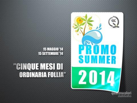 Campagna Pubblicitaria Summer 2014 Quattrocolori