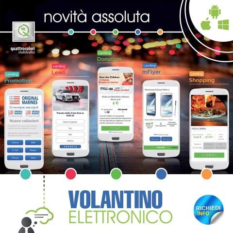 Campagna Volantini Elettronici Quattrocolori