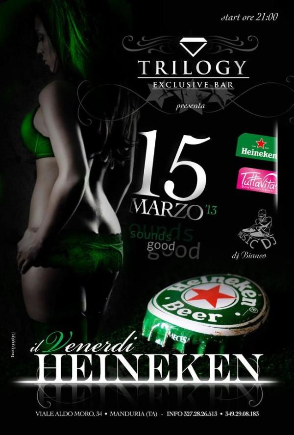 Flyer Heineken Trilogy