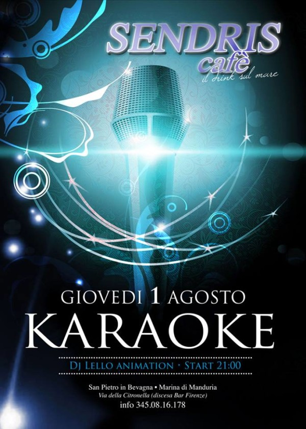 Flyer Karaoke Sendris