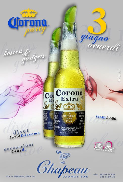 Locandina Corona Chapeau