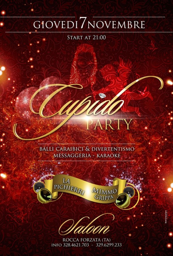 Locandina Cupido Party Saloon