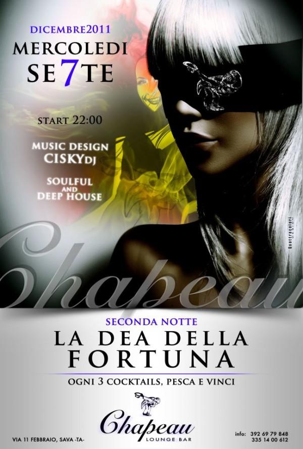locandina dea fortuna chapeau
