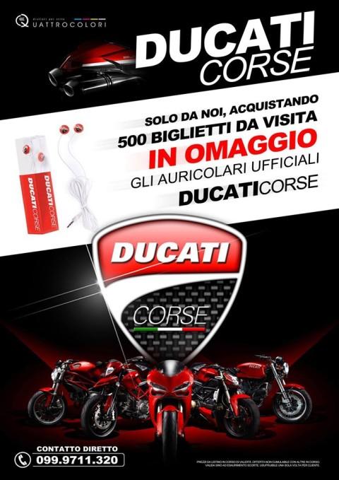Locandina Ducati Quattrocolori