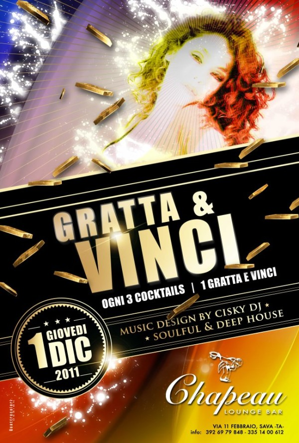 Locandina Gratta & Vinci Chapeau
