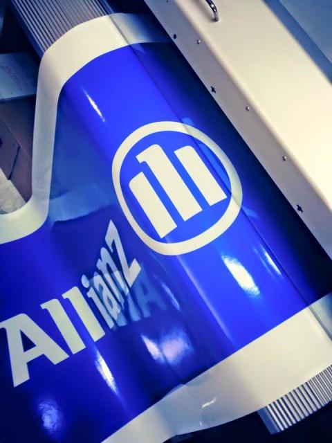 Pvc personalizzato Allianz Assicurazione