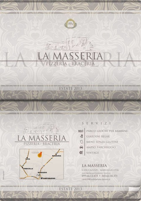 Volantino La Masseria